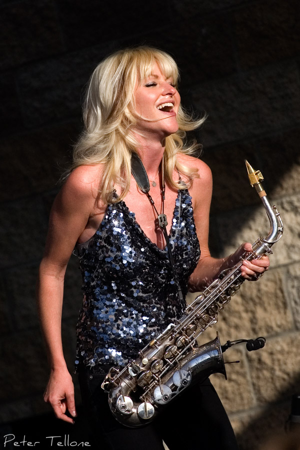 Mindi Abair Champagne Jazz Festival Thornton Winery
