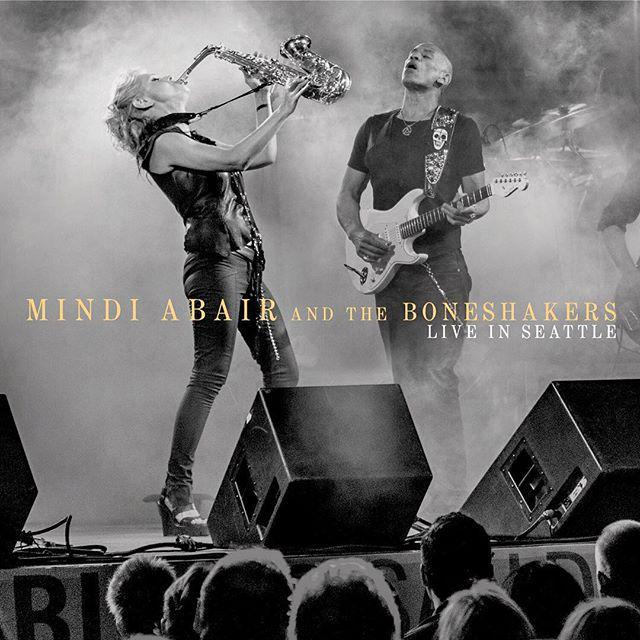 Mindi Abair and the Boneshakers photo by Peter Tellone