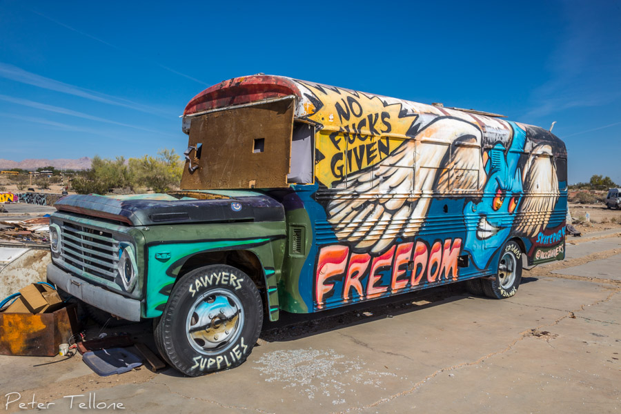 Slab City - The Salton Sea